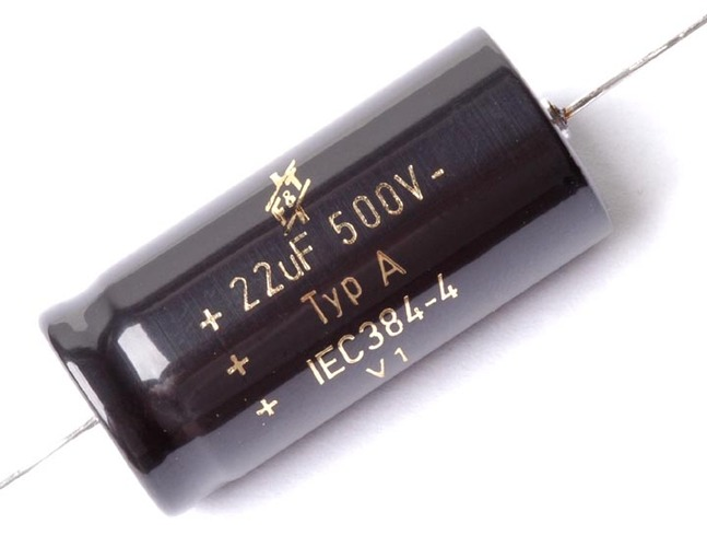 Tube Amp Condenser Audio F/&T Capacitor 22uF 500V For Amplifier Old Radio