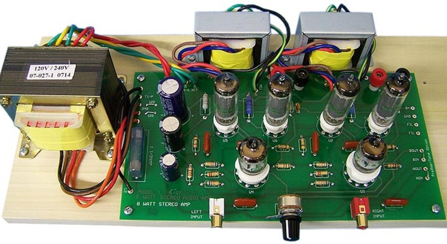Model 8ls Stereo Integrated Tube Amplifier