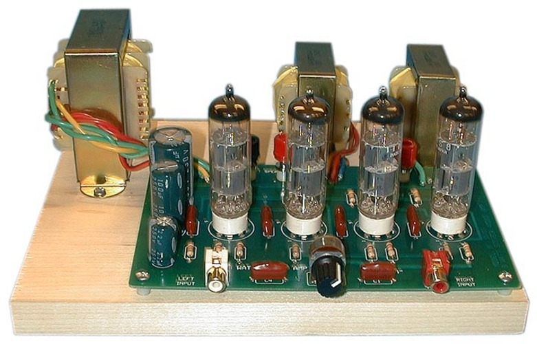 Stereo Tube  lifier Kit