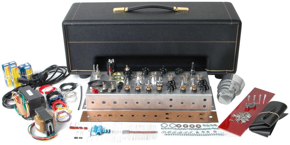 Classic British 18W Tube Guitar Amp Kit - Head