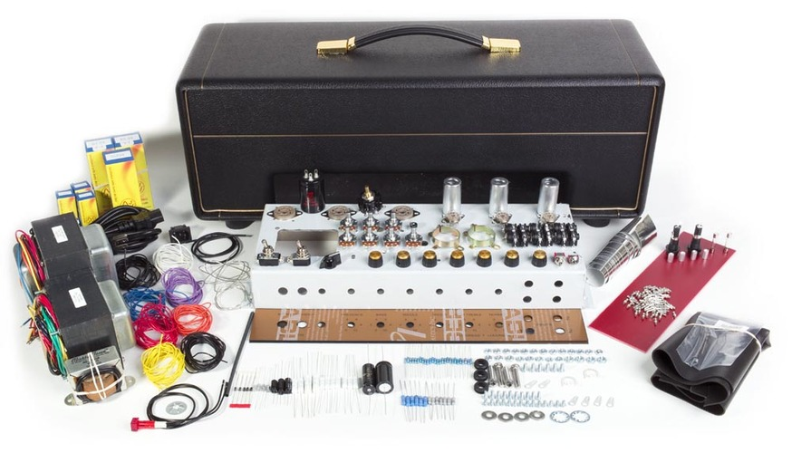 Classic british jtm45 tube guitar amp kit head tubedepot kit jtm45plus head 5 solutioingenieria