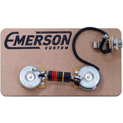 emerson custom les paul junior prewired kit
