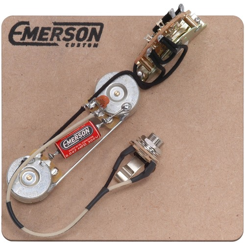 emerson custom telecaster 3 way prewired kit tubedepot com rh tubedepot com