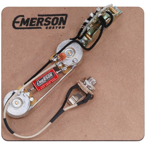 emerson custom telecaster way prewired kit com gp ec t4 250k 2