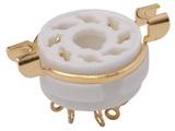8 Pin Octal Gold Socket