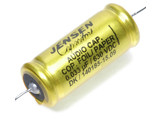 Jensen 0.033µf / 630V Copper Foil Paper-In-Oil Silver Lead Aluminum Case Capacitor