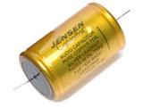 Jensen 1µf / 630V Copper Foil Paper-In-Oil Silver Lead Aluminum Case Capacitor