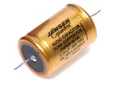 Jensen 0.22µf / 630V Copper Foil Paper-In-Oil Silver Lead Aluminum Case Capacitor