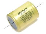 Jensen 2.2µf / 630V Copper Foil Paper-In-Oil Silver Lead Aluminum Case Capacitor
