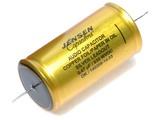 Jensen 0.47µf / 630V Copper Foil Paper-In-Oil Silver Lead Aluminum Case Capacitor