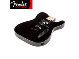 Genuine Fender® Telecaster® Body(Modern Bridge) - Black