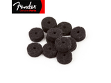 Genuine Fender® Strap Button Felt Washers - Black