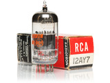 RCA 12AY7 Double Mica