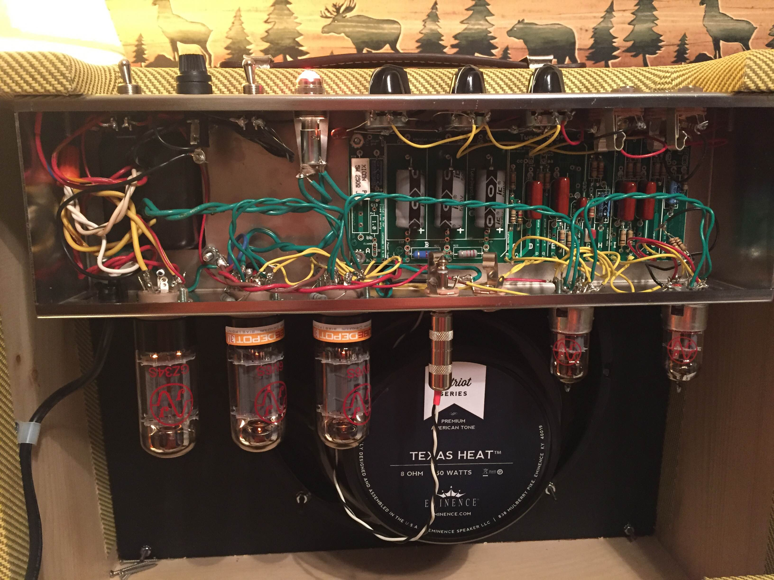 Welcome To Making A Simple Diy Mini Guitar Amplifier Strat And Other Build Him One If He Bought The Kit So I Might Get Do It Again Thanks For Putting These Kits Together Jeff B Buy This Tweed 5e3 Vacuum Tube Amp