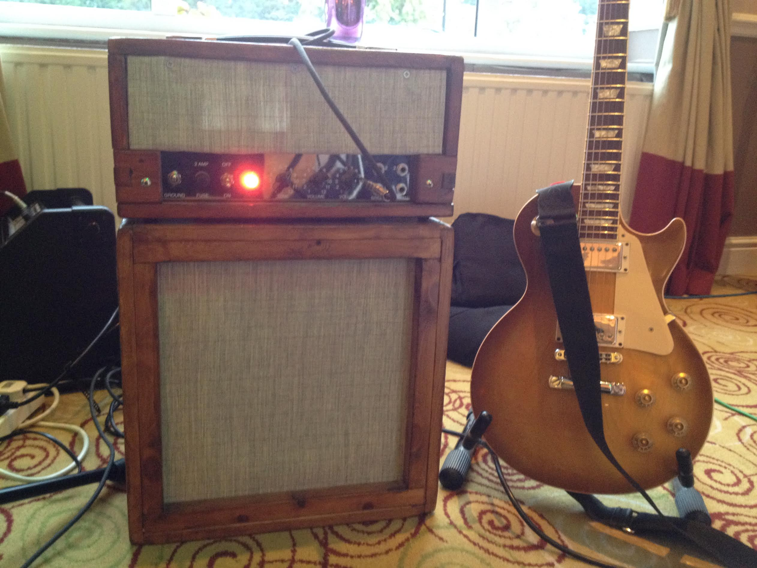 Welcome to tubedepot using it with a les paul my homemade tele and a 1937 cromwell archtop jimmy b buy this tweed 5e3 vacuum tube amp kit solutioingenieria Image collections