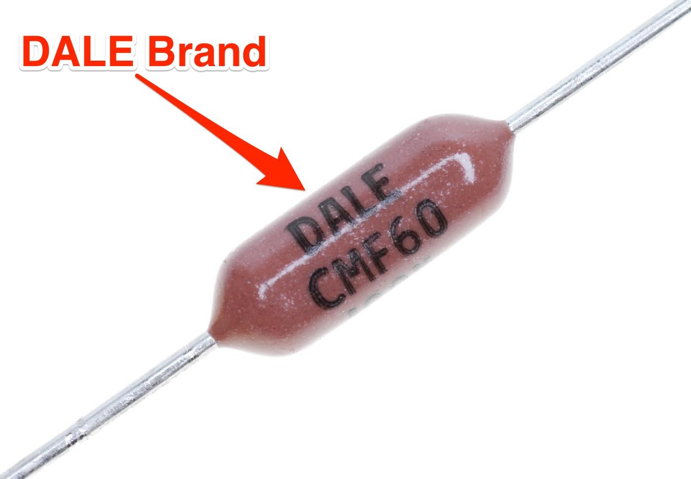 Dale Brand CMF60 MIL-SPEC 1/2W Resistors, 1%