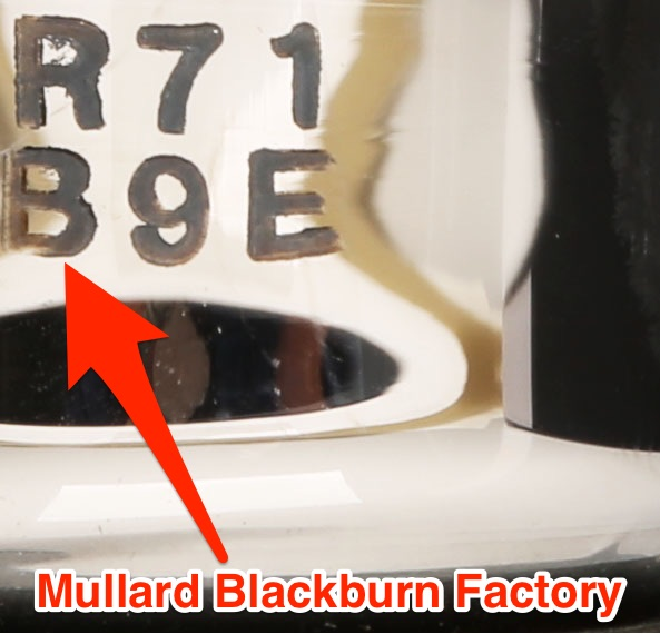 Mullard Made GZ32 / 5V4G