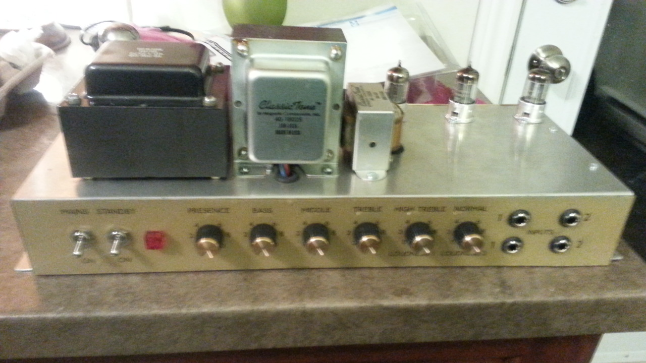 Welcome To This Is A Kit Of Electronic Partswhich Will Allow You Build Mw Am Im One Happy Customer Rock On Daniel W Buy Classic British Jtm45 Tube Guitar Amp