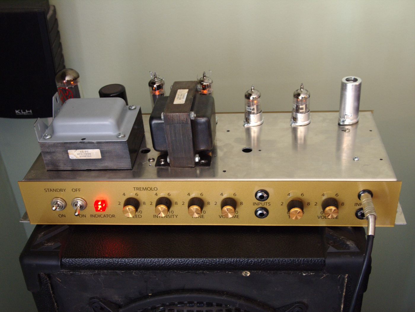 Welcome To 18 W Stereo Amplifier Circuit Buy This Classic British 18w Tube Guitar Amp Kit Head