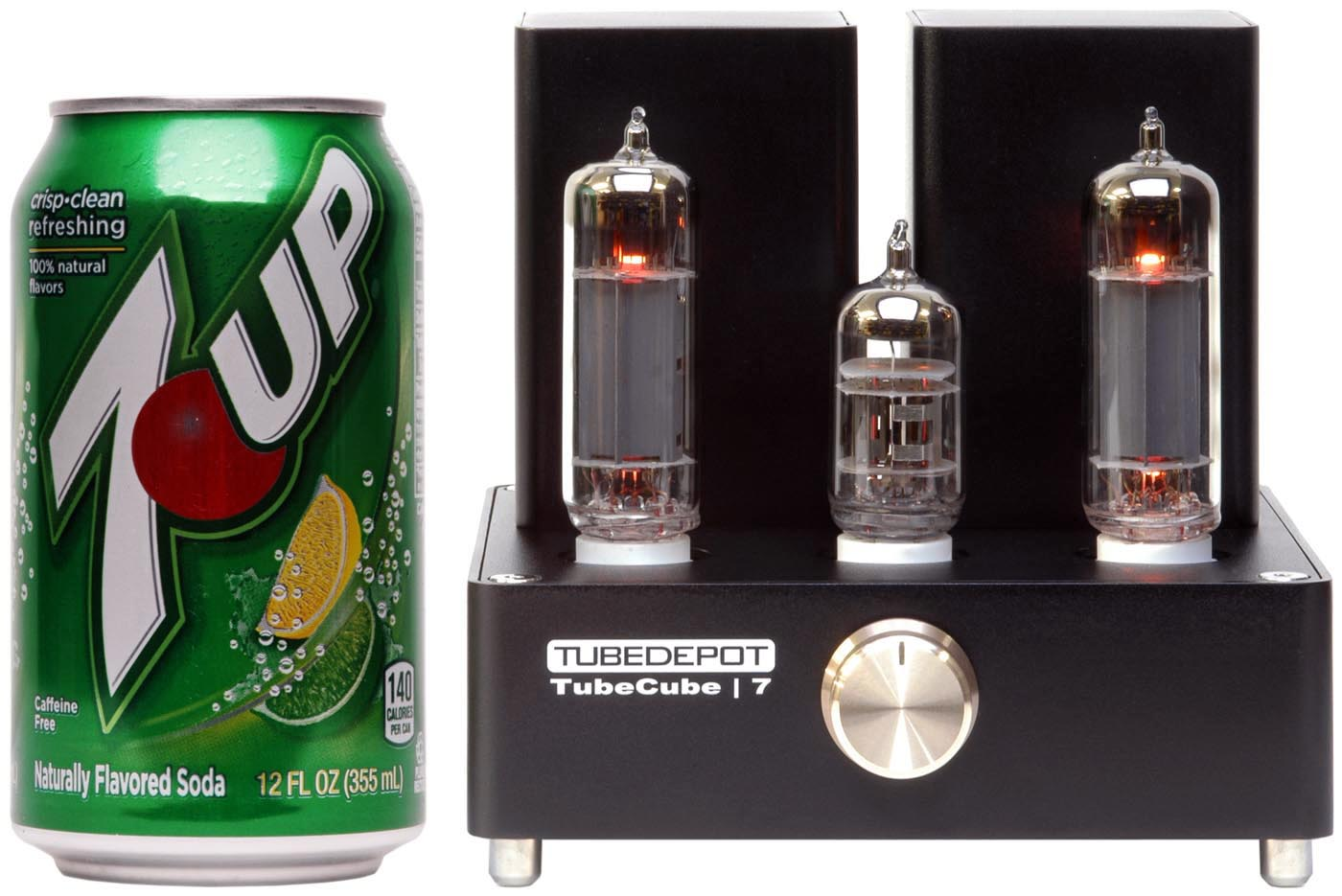 Tubecube 7 Stereo Vacuum Tube Amplifier Complete Amp Kit Has Everything You Need To Hook Up Your Can Connect