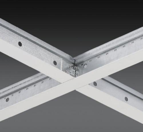 2 ft x 1 15/16 in Chicago Metallic 1200 15/16 in Cross Tee / White - 1202.01Z