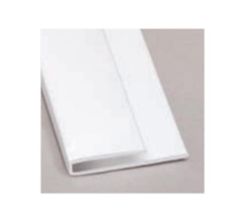 10 ft Glasteel FRP End Cap - White