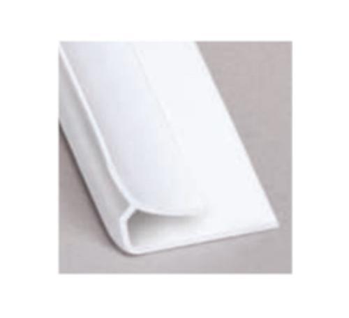 10 ft Glasteel FRP Inside Corner - White