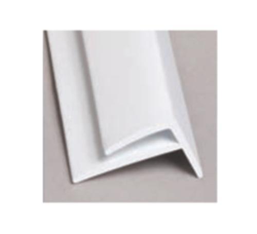 10 ft Glasteel FRP Outside Corner - White