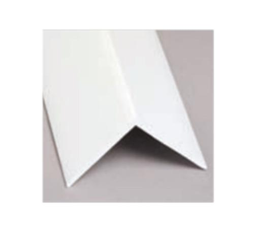 1 1/4 in x 10 ft Glasteel FRP Outside Corner Angle - White