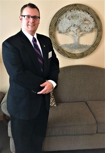 Photo of DUSTIN GILLHAM - Funeral Director