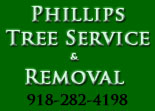Website for Phillips Tree Service & Removal