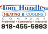 Website for Tom Hundley Heating & Cooling, LLC