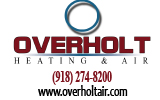 Website for Overholt Heating & Air Inc.
