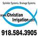 Website for Christian Irrigation