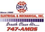 Website for Amos Heat & Air