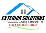 Website for Exterior Solutions by Craig's Roofing, Inc.