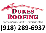 Website for Dukes Roofing