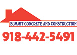 Website for Summit Concrete & Construction Company, LLC