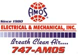 Website for Amos Heat & Air