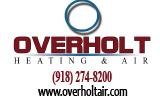 Website for Overholt Heating & Air Inc.