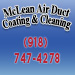 Website for McLean Air Duct Coating