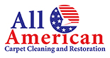 Website for All American Carpet Cleaning and Restoration