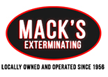 Website for Mack's Exterminating & Spraying LLC