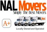 Website for NAL Movers Tulsa, Inc.