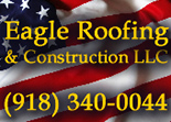 Website for Eagle Roofing & Construction LLC
