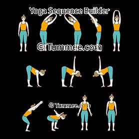 half chair pose yoga whooping crane pose  yoga