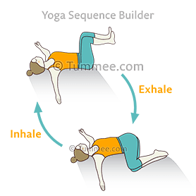 supta matsyendrasana i yoga prasarita merudandasana