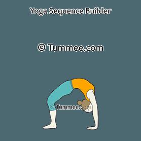 chakrasana yoga urdhva dhanurasana  yoga sequences