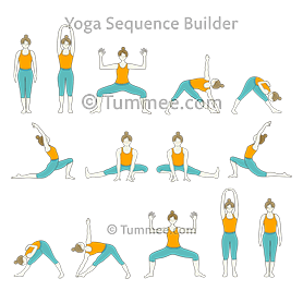moon salutation yoga chandra namaskar  yoga sequences