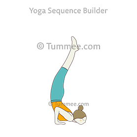 How to Get Into Chin Stand (Tutorial)   Advanced Yoga Poses